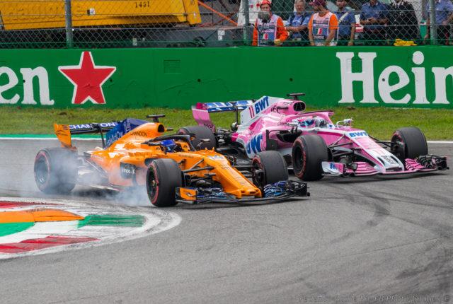 F1 クラッシュ 2018