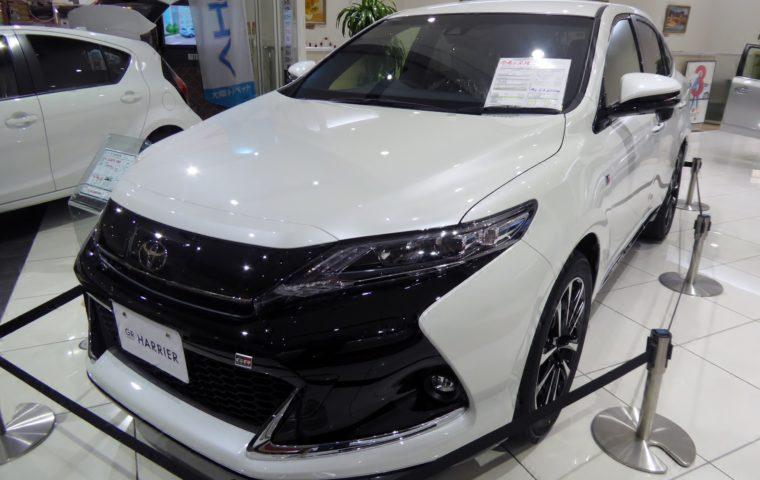 SUV トヨタ ハリアー